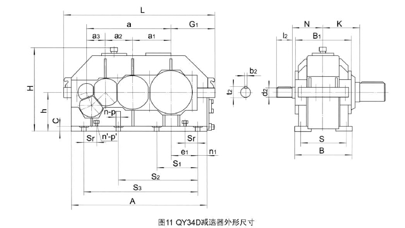 QY34D系列硬齿面减速机