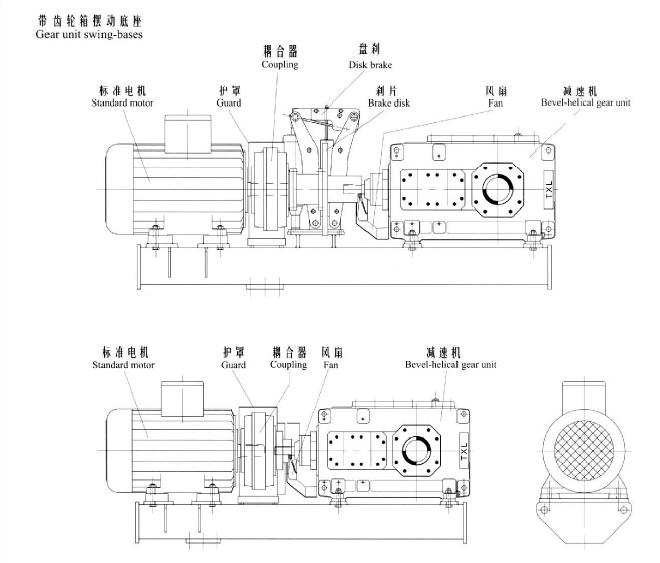 H系列大中型硬�X面�p速箱