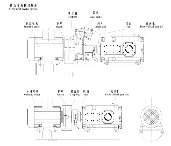 H系列大中型硬齿面减速箱